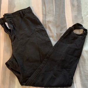 Pants - Vintage black stirrup pants
